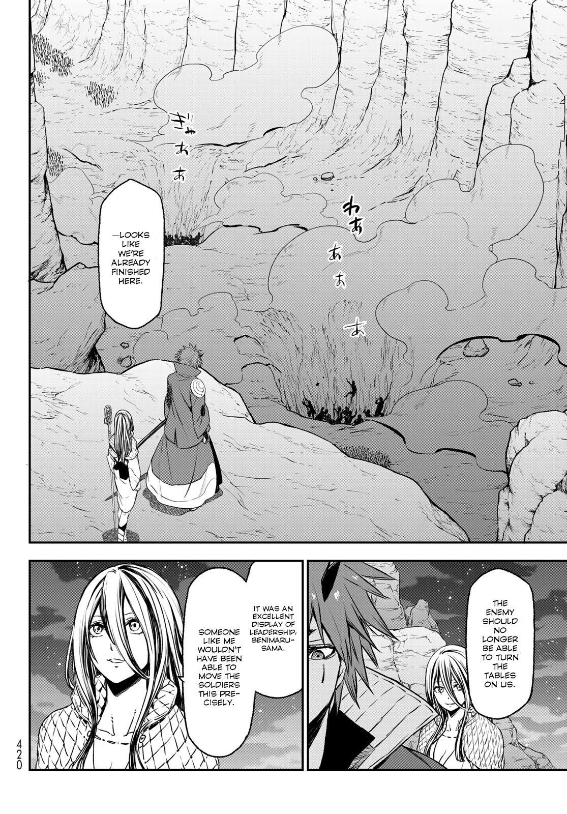 Tensei shitara Slime Datta Ken, Chapter 78 image 035