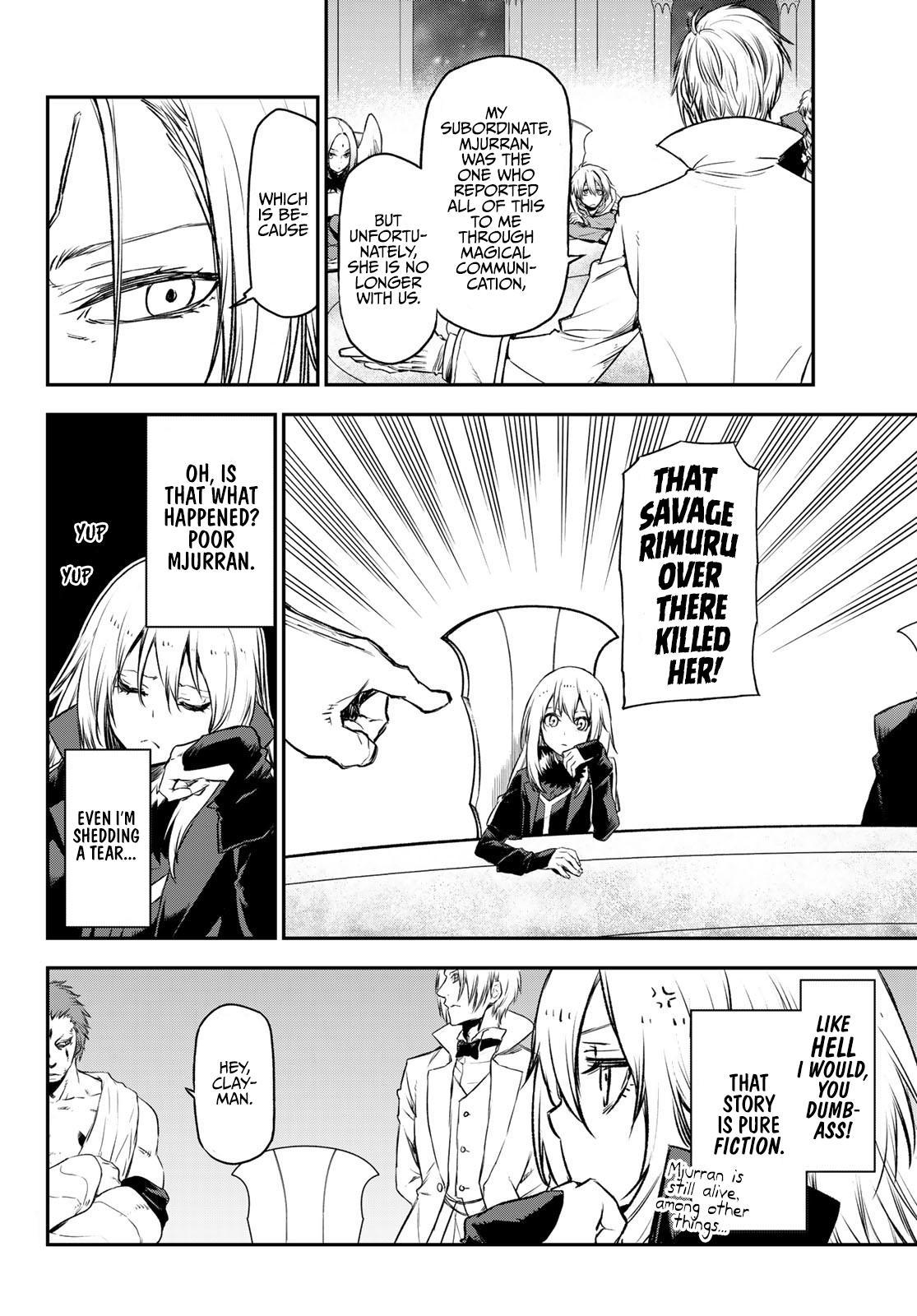 Tensei shitara Slime Datta Ken, Chapter 81 image 016