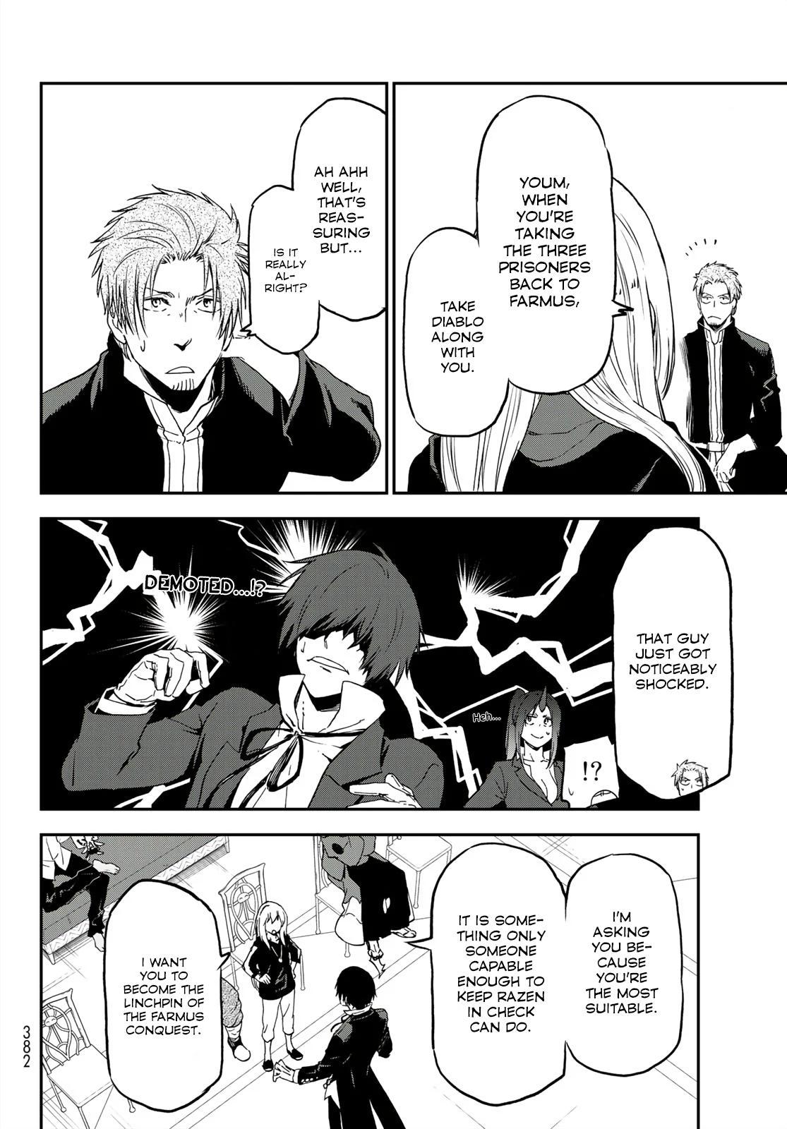 Tensei shitara Slime Datta Ken, Chapter 75 image 034