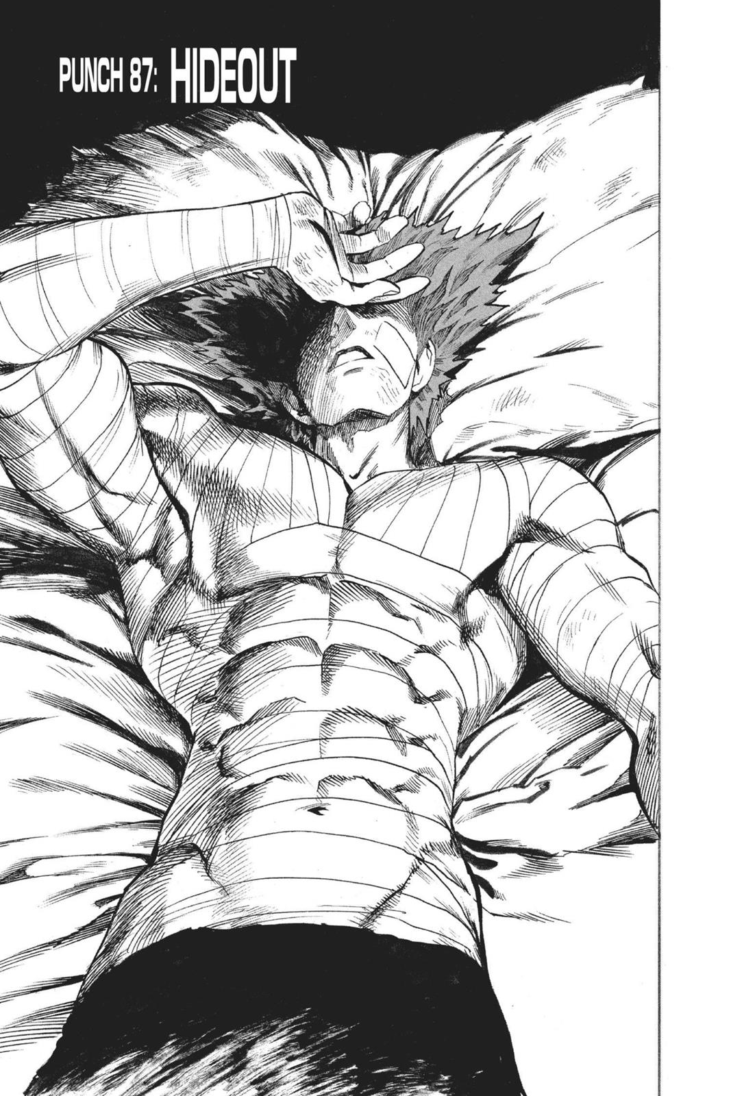One-Punch Man, Chapter 87 image 001