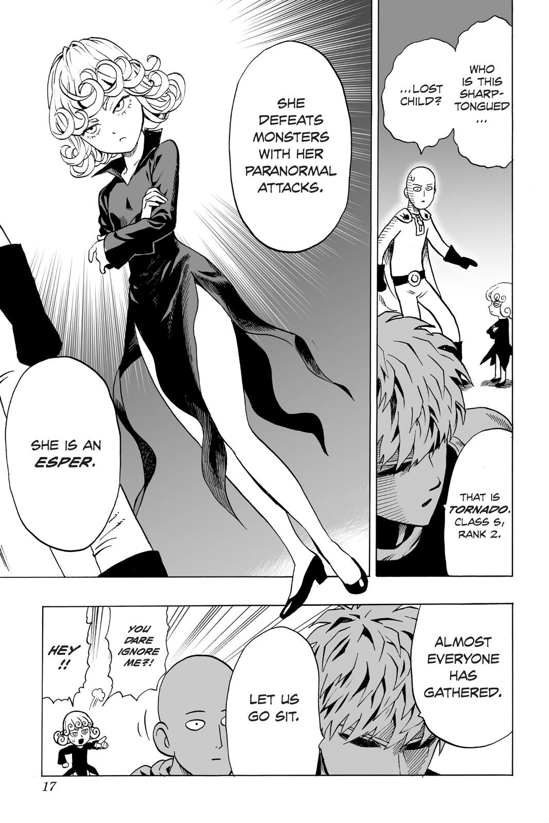 One-Punch Man, Chapter 30 image 018