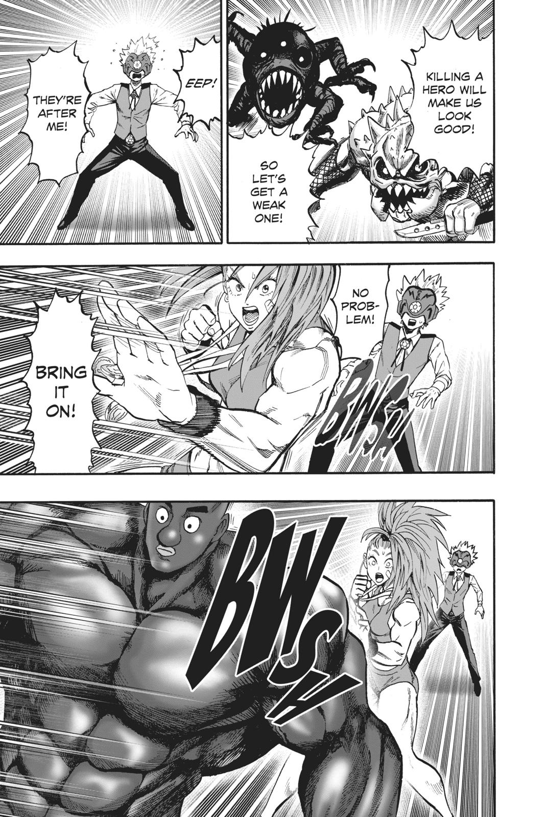 One-Punch Man, Chapter 97 image 023