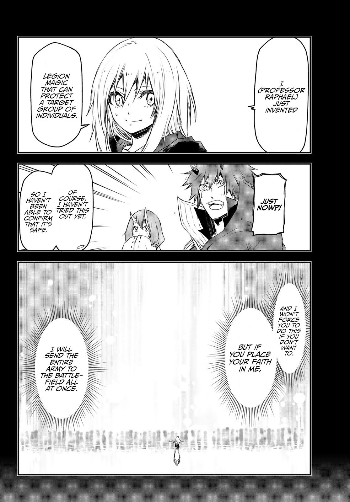 Tensei shitara Slime Datta Ken, Chapter 81 image 011