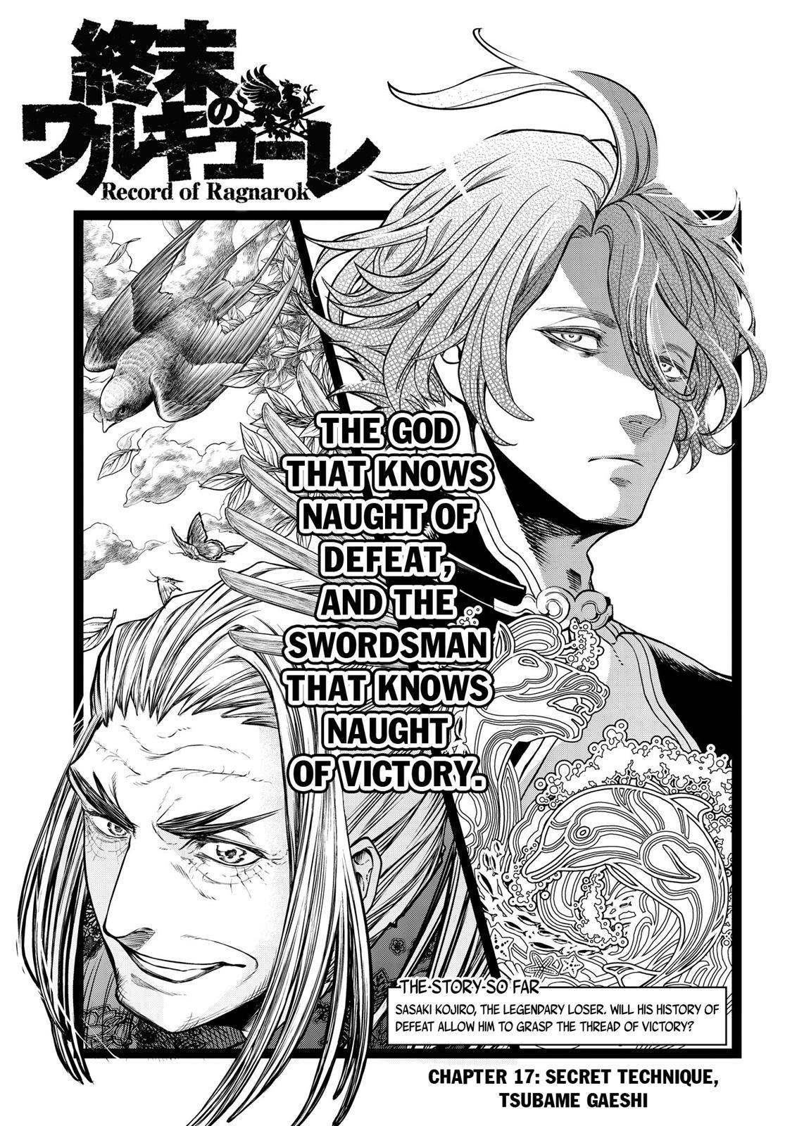 Shuumatsu no Valkyrie, Chapter 17 image 002