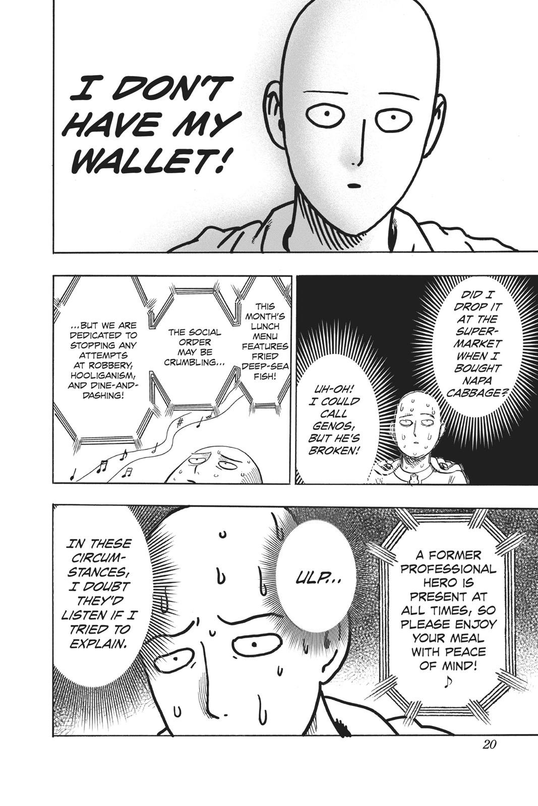 One-Punch Man, Chapter 88 image 020