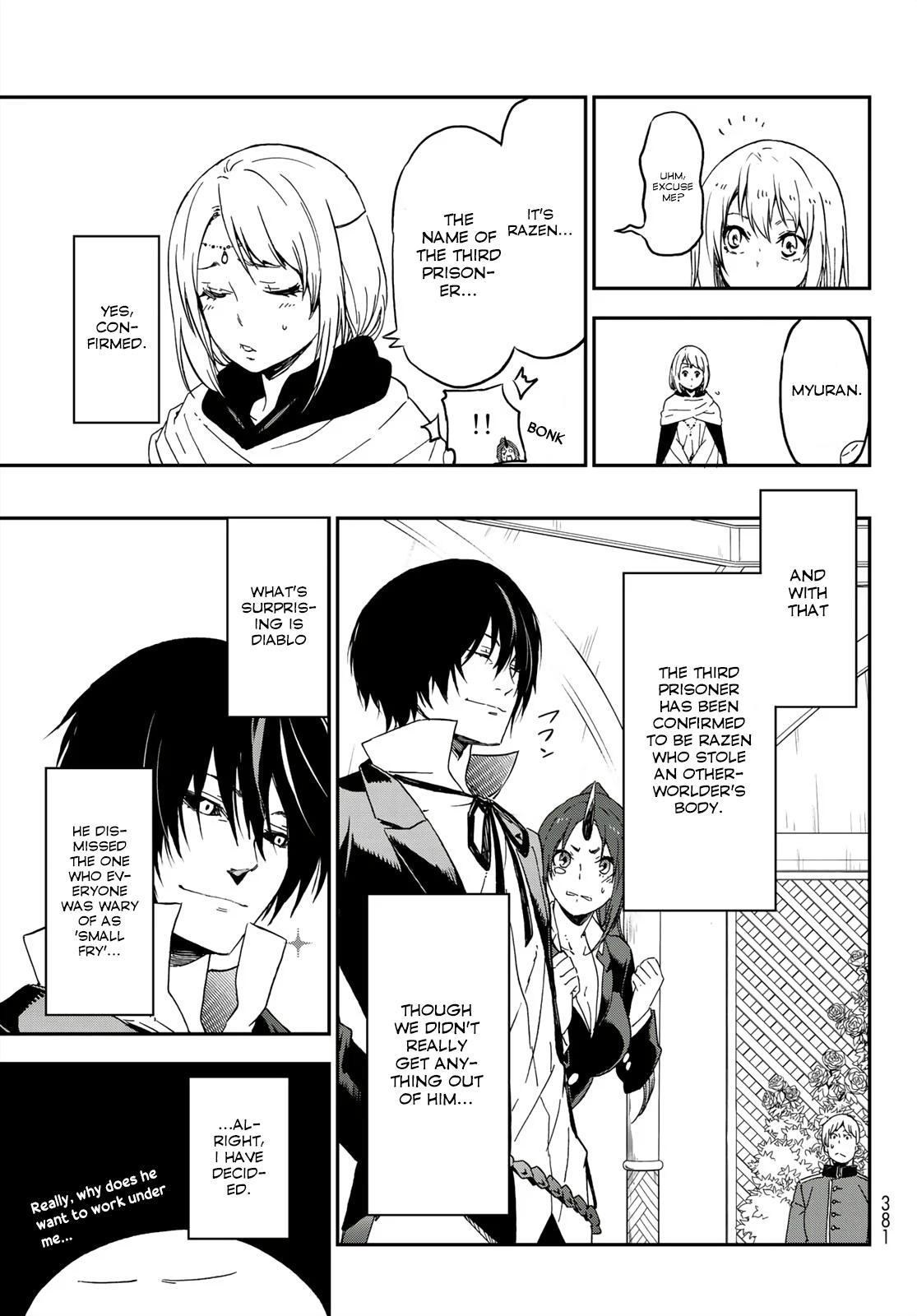 Tensei shitara Slime Datta Ken, Chapter 75 image 033