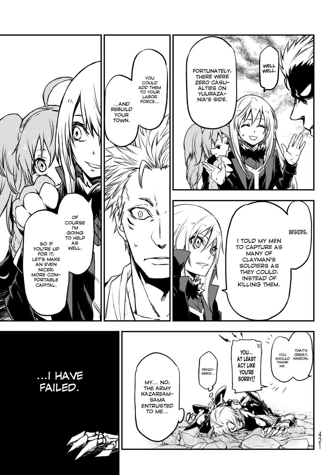 Tensei shitara Slime Datta Ken, Chapter 84 image 035