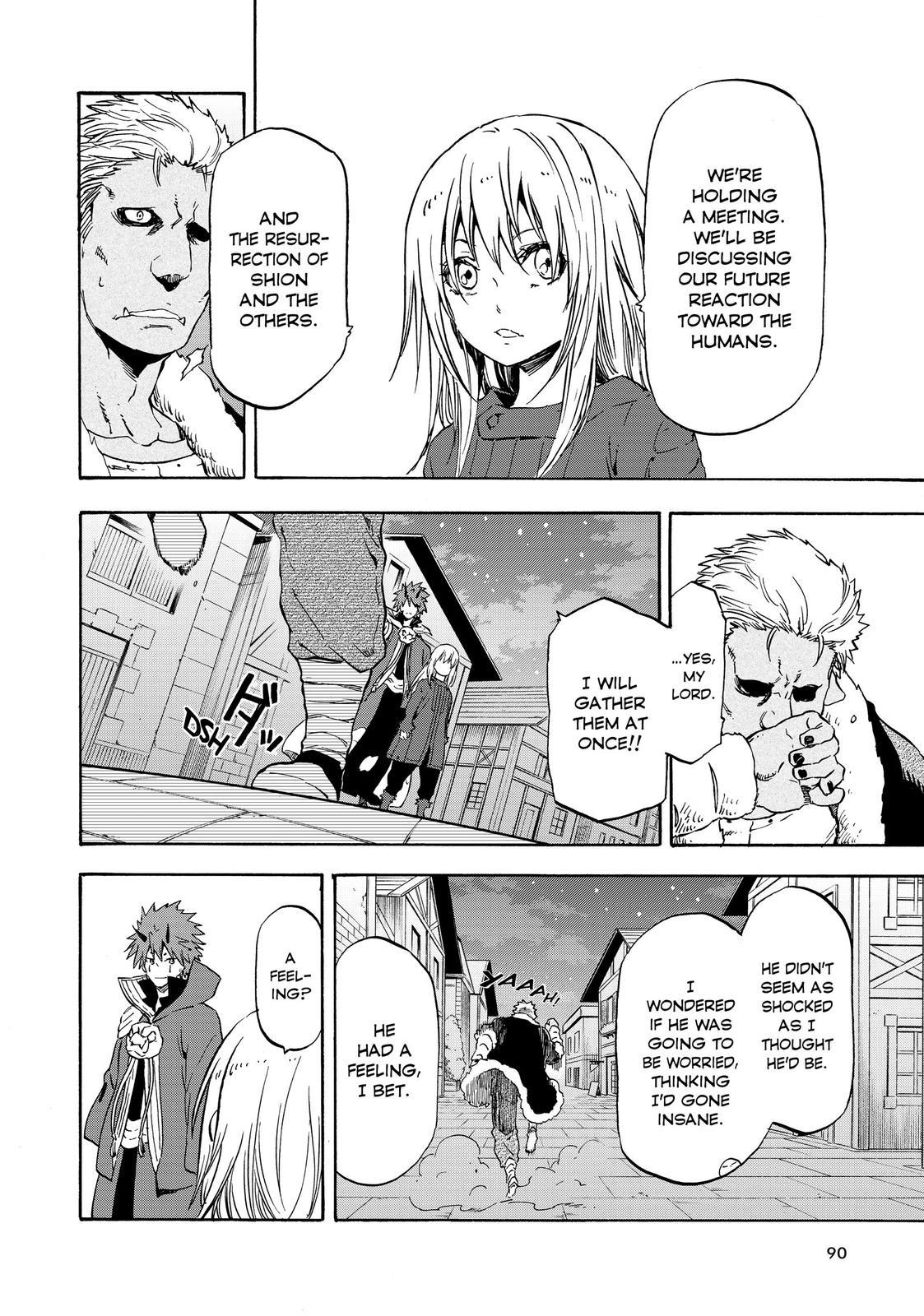 Tensei shitara Slime Datta Ken, Chapter 61 image 004