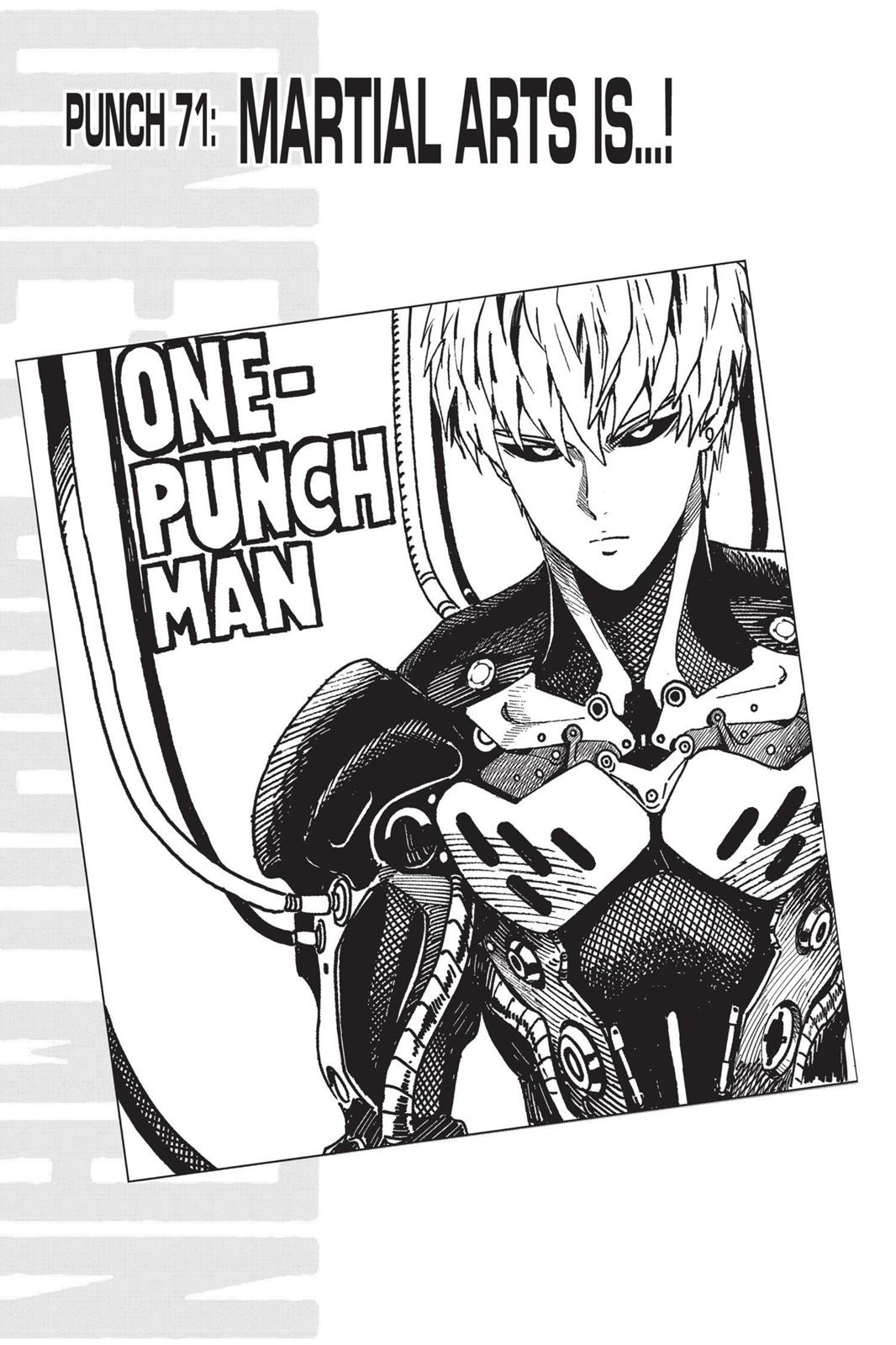 One-Punch Man, Chapter 71 image 001