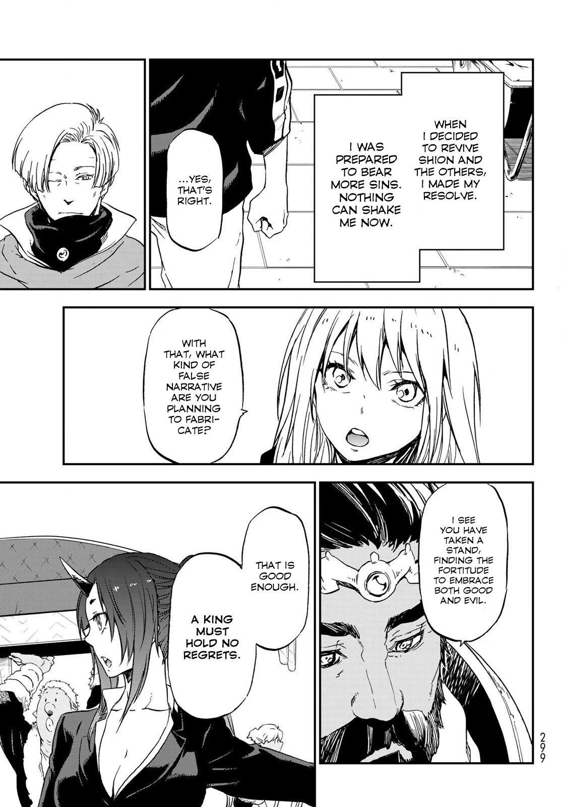 Tensei shitara Slime Datta Ken, Chapter 74 image 031