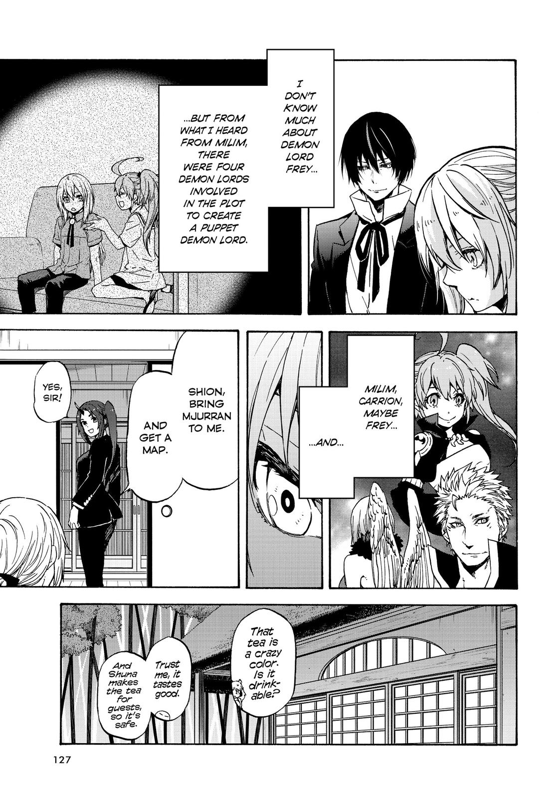 Tensei shitara Slime Datta Ken, Chapter 70 image 030