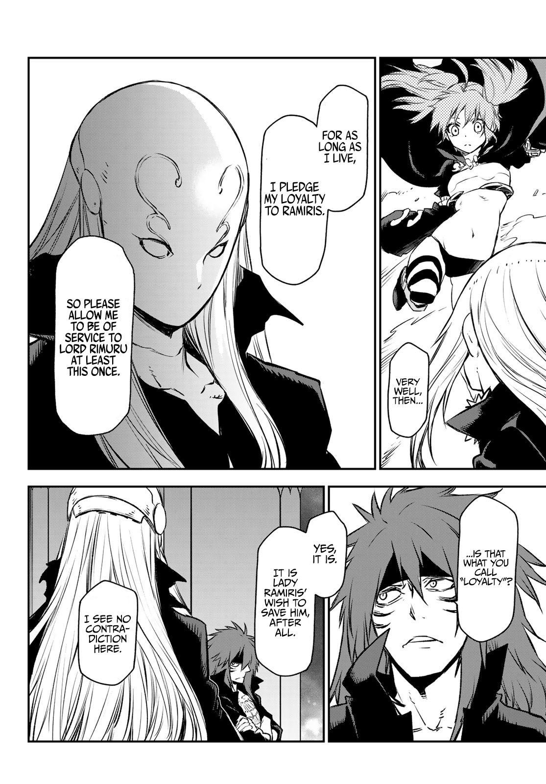 Tensei shitara Slime Datta Ken, Chapter 82 image 034