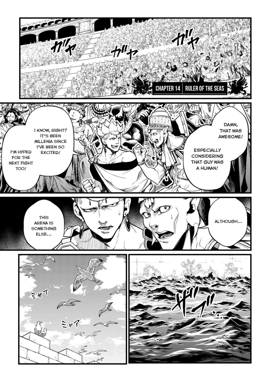 Shuumatsu no Valkyrie, Chapter 14 image 002