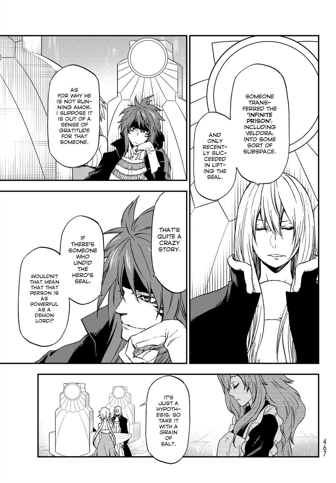 Tensei shitara Slime Datta Ken, Chapter 76 image 029
