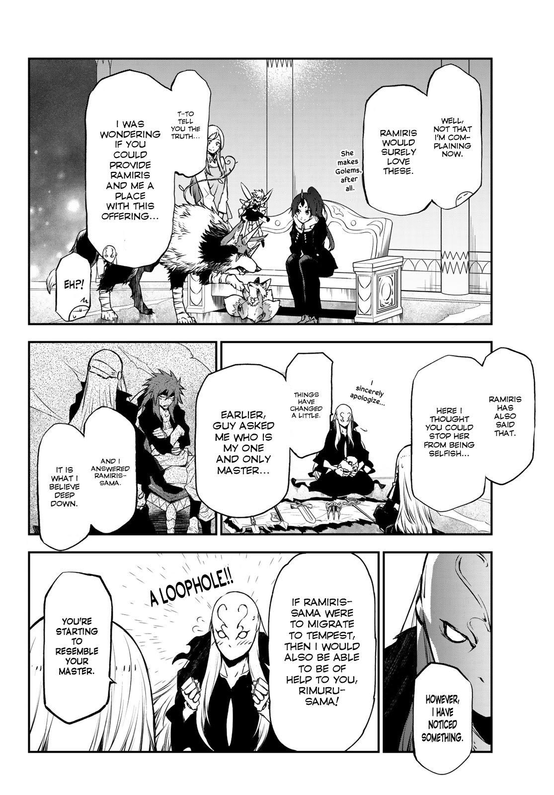 Tensei shitara Slime Datta Ken, Chapter 86 image 002