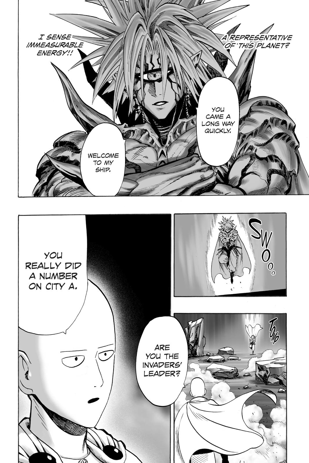 One-Punch Man, Chapter 33 image 022