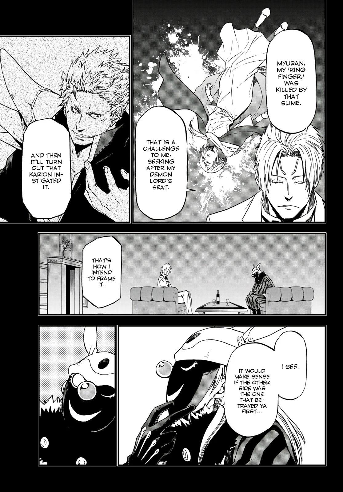 Tensei shitara Slime Datta Ken, Chapter 75 image 005