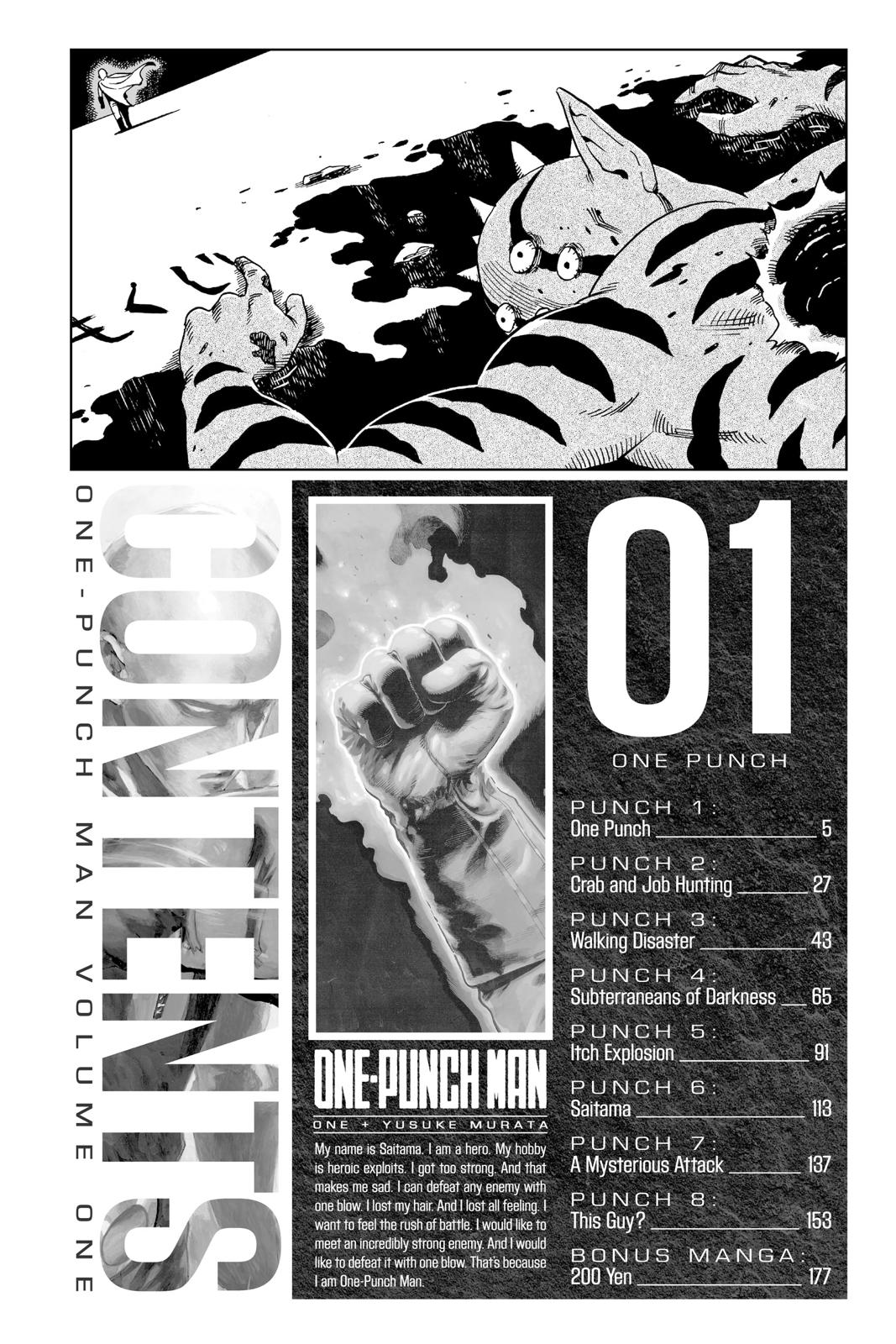 One-Punch Man, Chapter 1 image 005