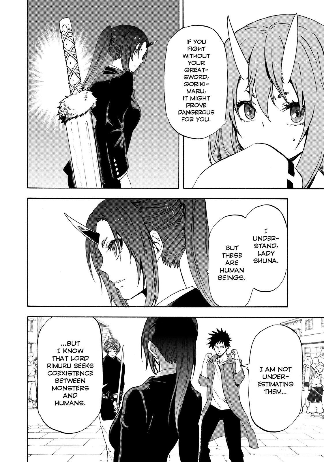 Tensei shitara Slime Datta Ken, Chapter 58 image 002
