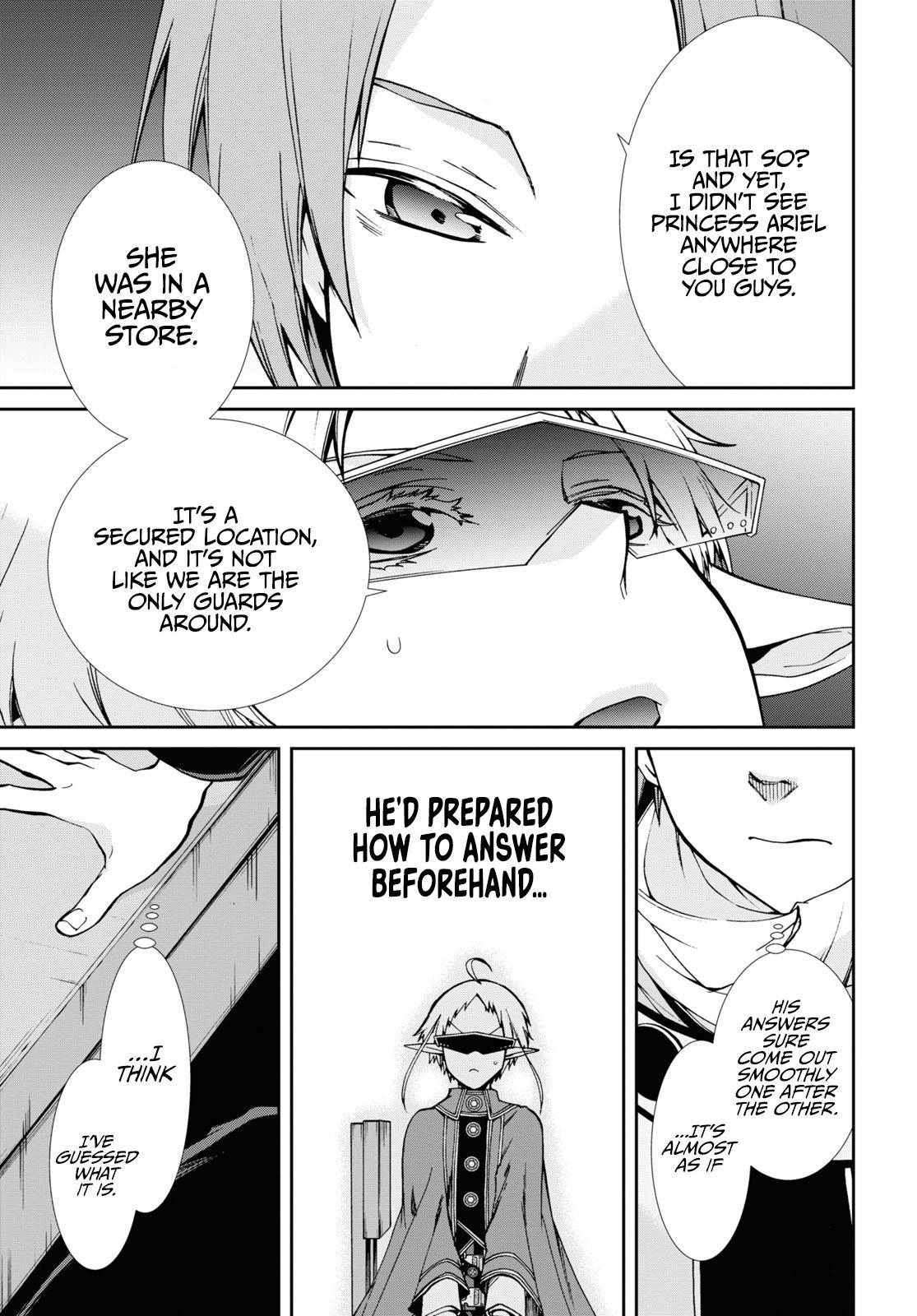 Mushoku Tensei, Chapter 71 image 026