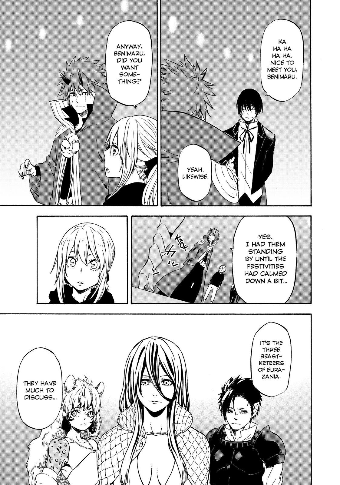 Tensei shitara Slime Datta Ken, Chapter 69 image 039