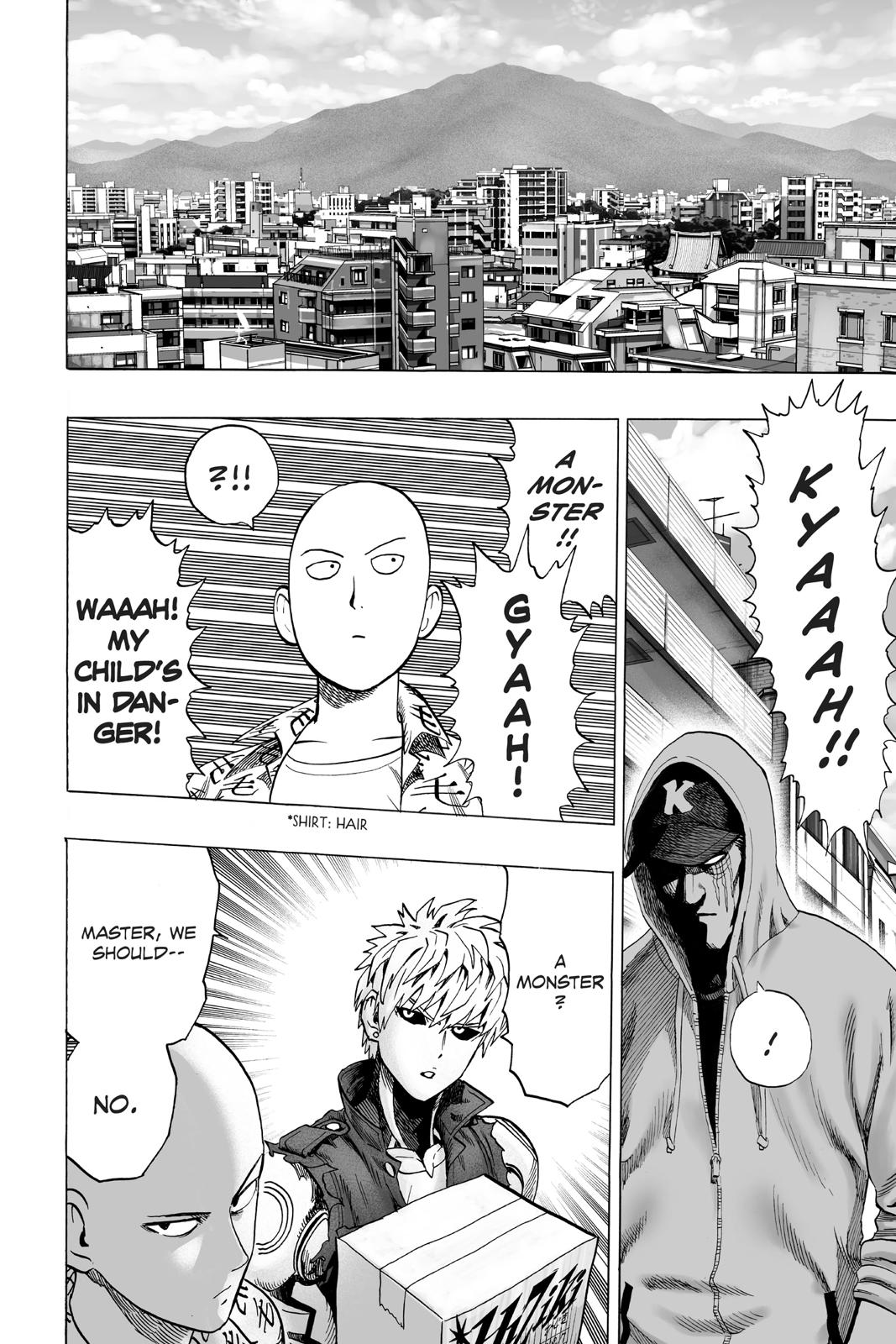 One-Punch Man, Chapter 38 image 020