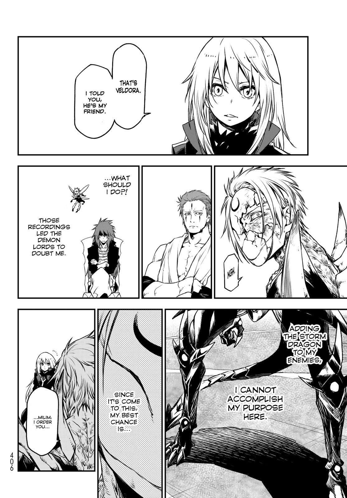 Tensei shitara Slime Datta Ken, Chapter 84 image 020