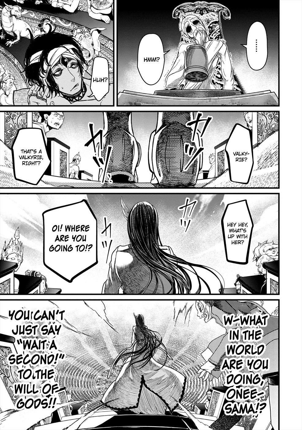 Shuumatsu no Valkyrie, Chapter 1 image 018