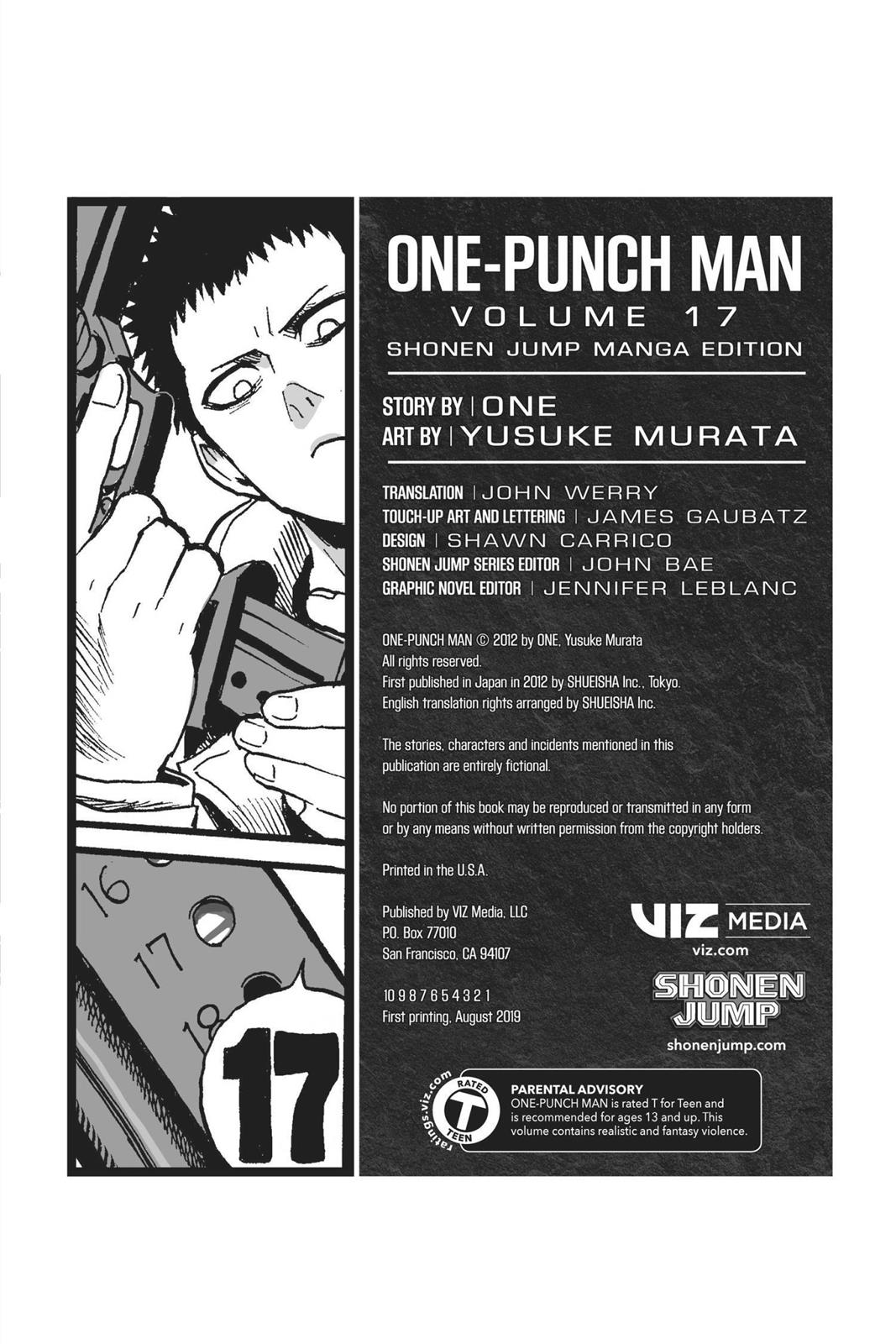 One-Punch Man, Chapter 87 image 038