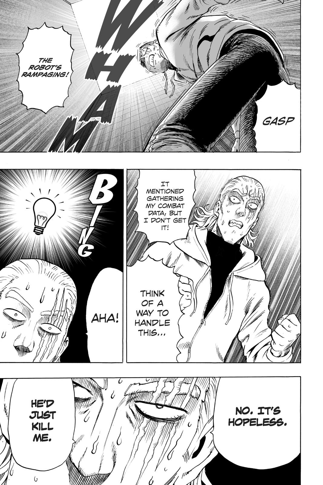 One-Punch Man, Chapter 38 image 036