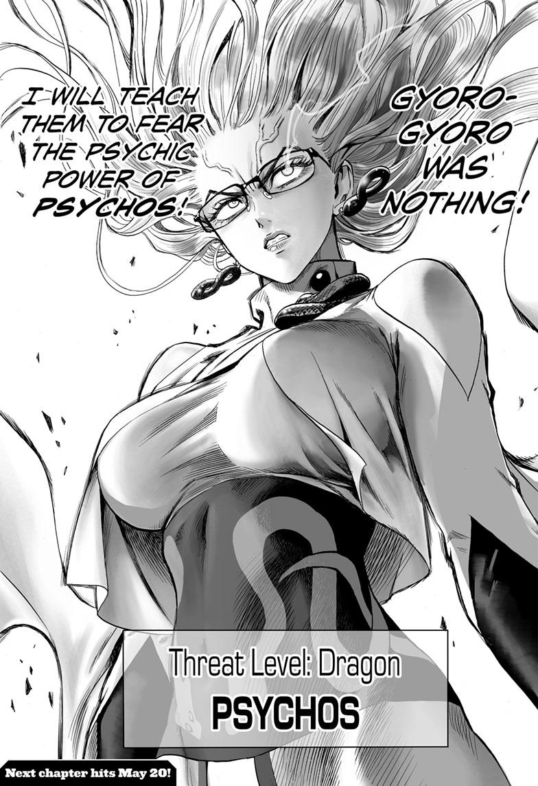 One-Punch Man, Chapter 124 image 018