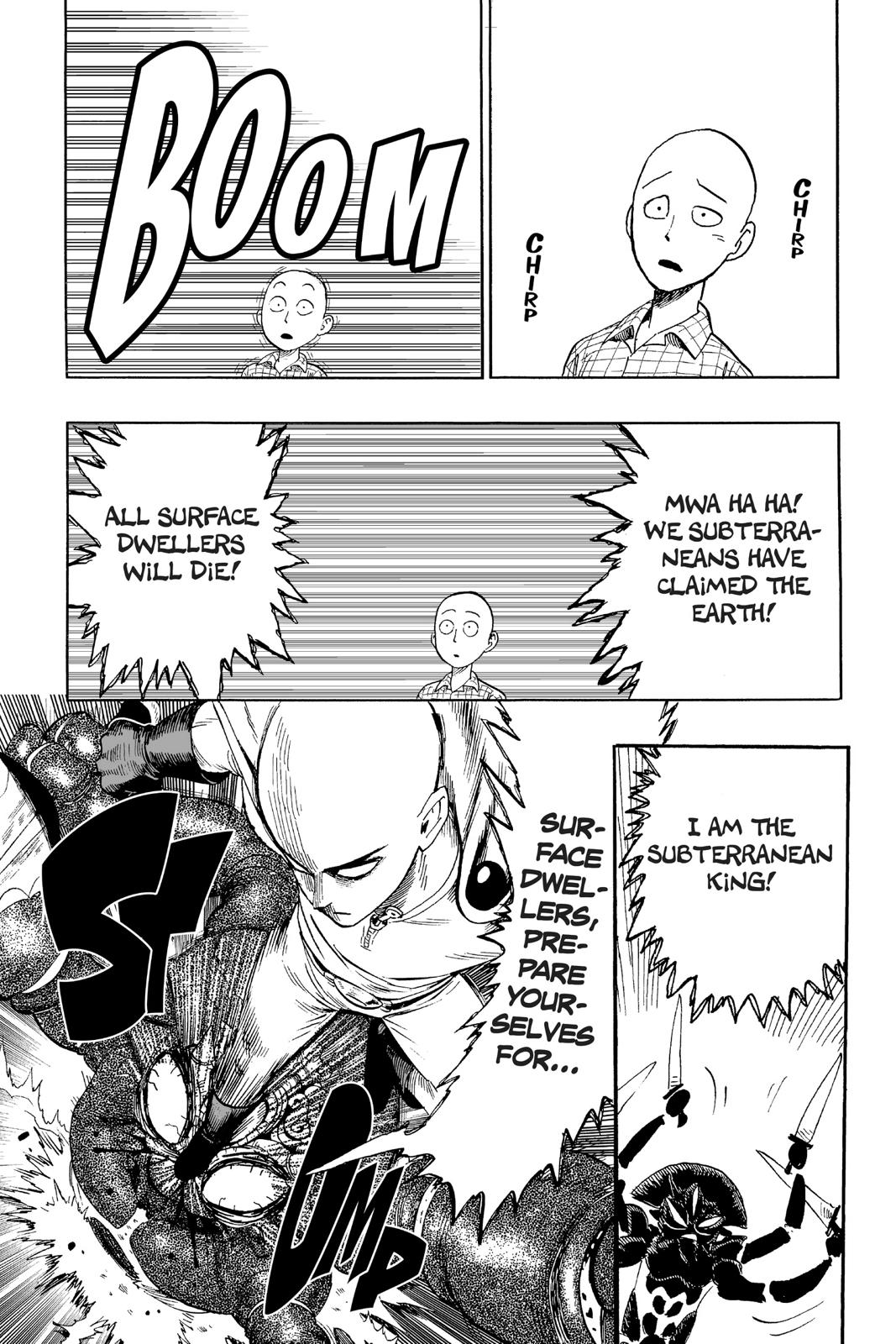 One-Punch Man, Chapter 4 image 022