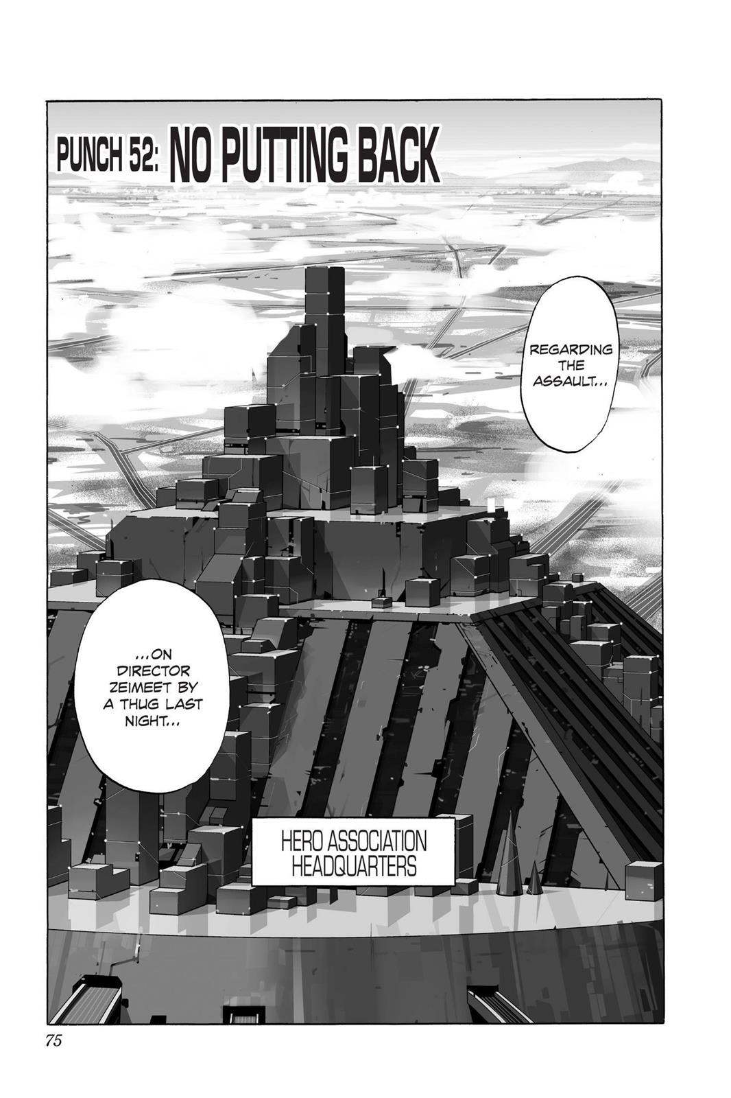One-Punch Man, Chapter 52 image 001