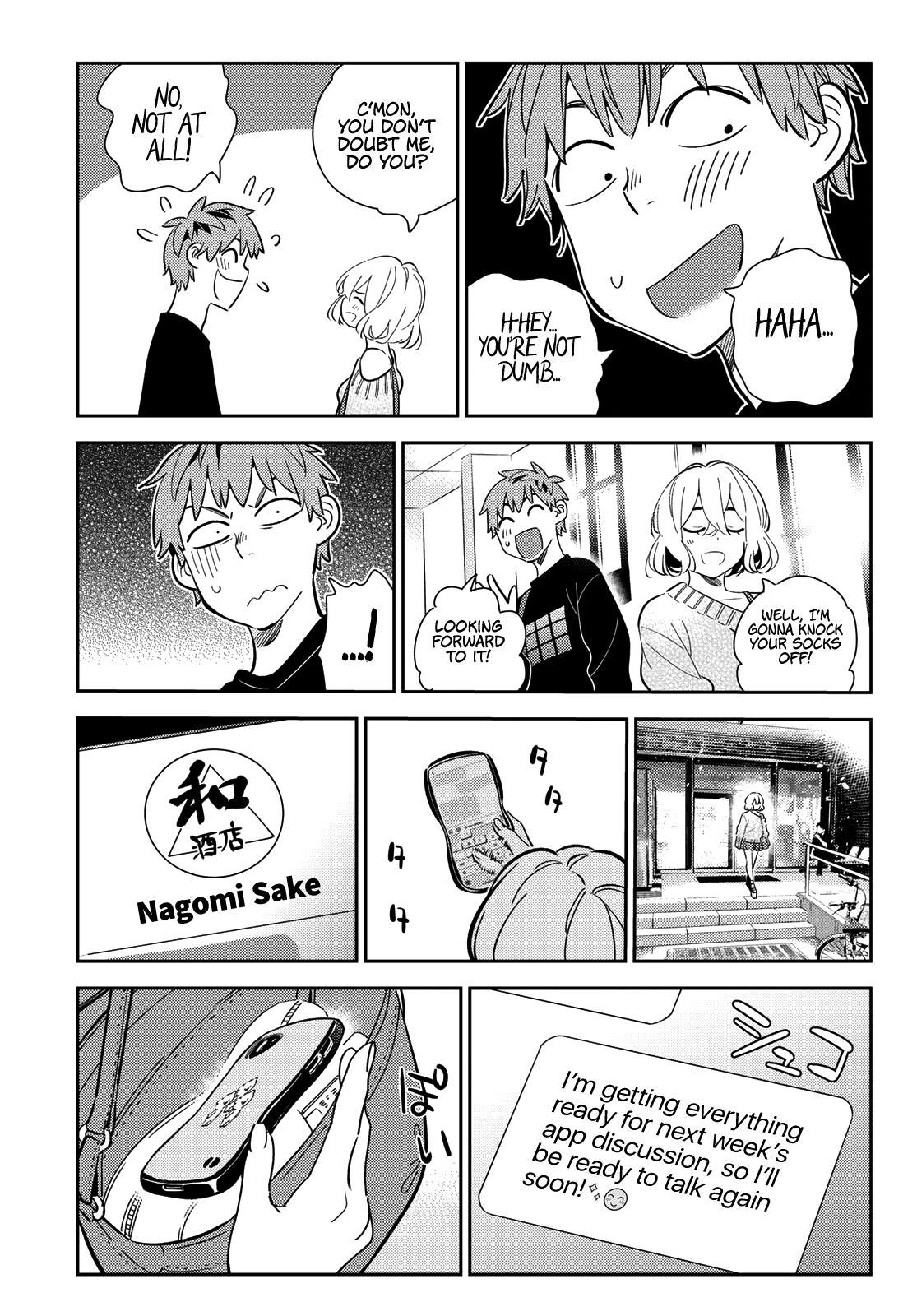 Kanojo Okarishimasu, Chapter 175 image 016