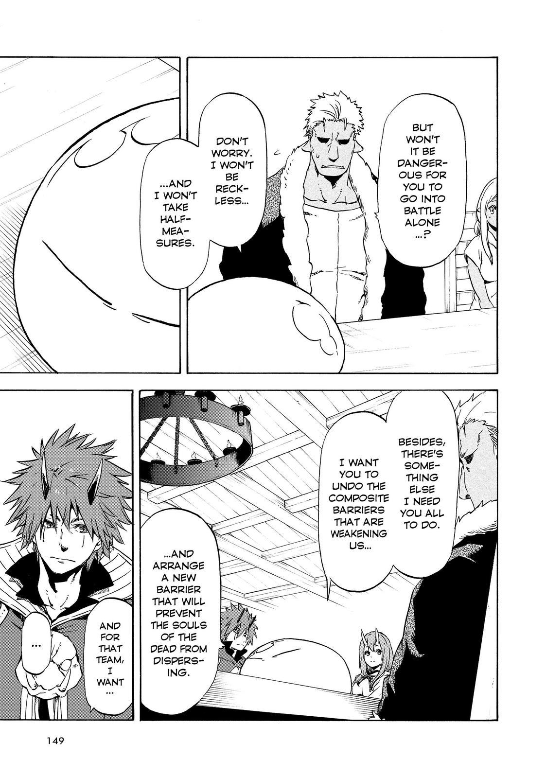 Tensei shitara Slime Datta Ken, Chapter 63 image 009