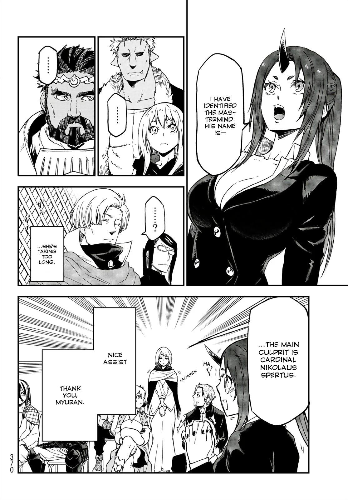 Tensei shitara Slime Datta Ken, Chapter 75 image 022