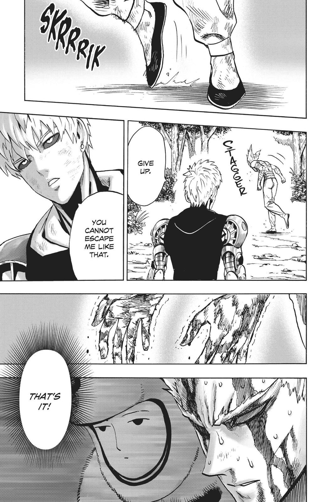 One-Punch Man, Chapter 83 image 021