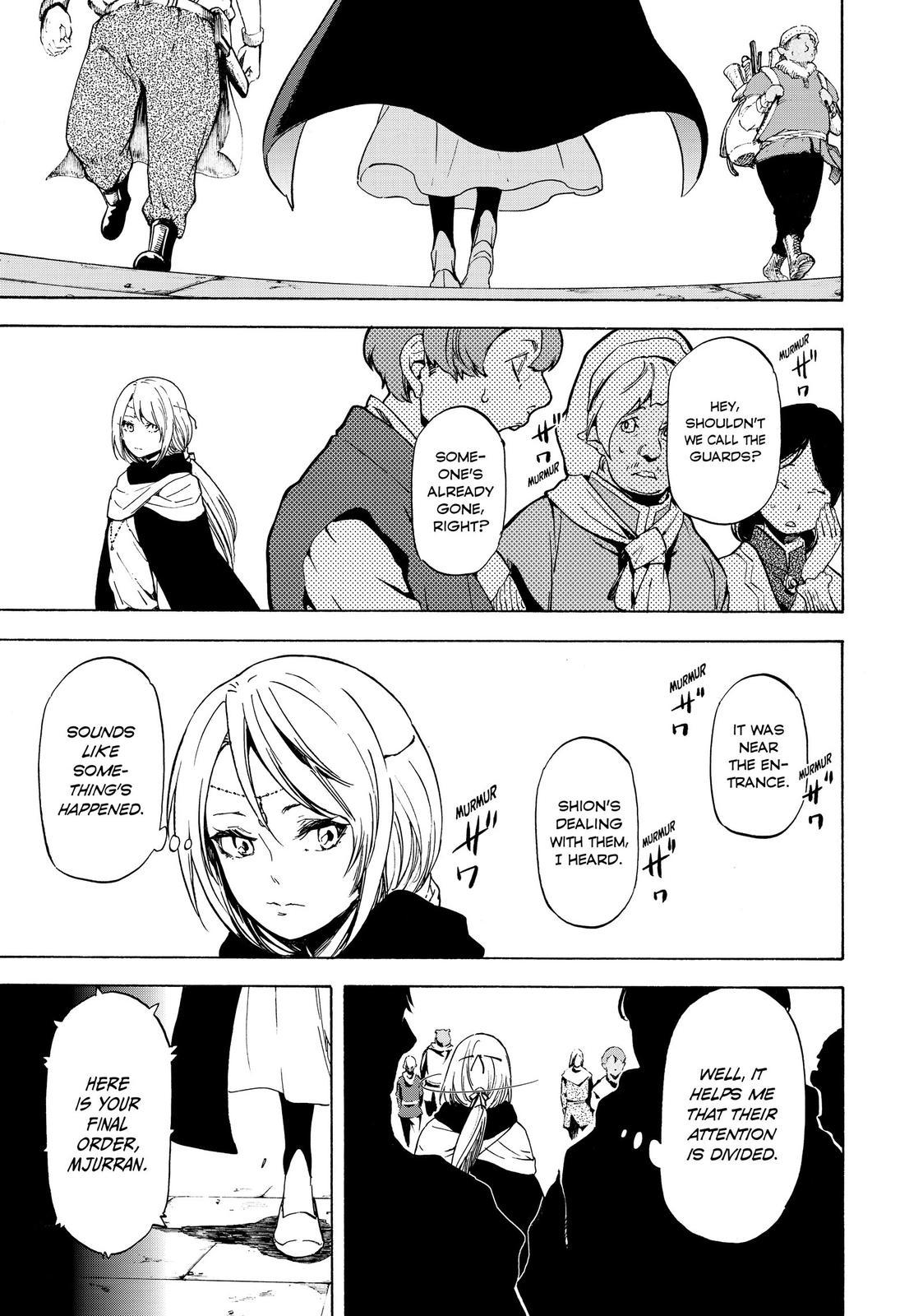 Tensei shitara Slime Datta Ken, Chapter 58 image 005