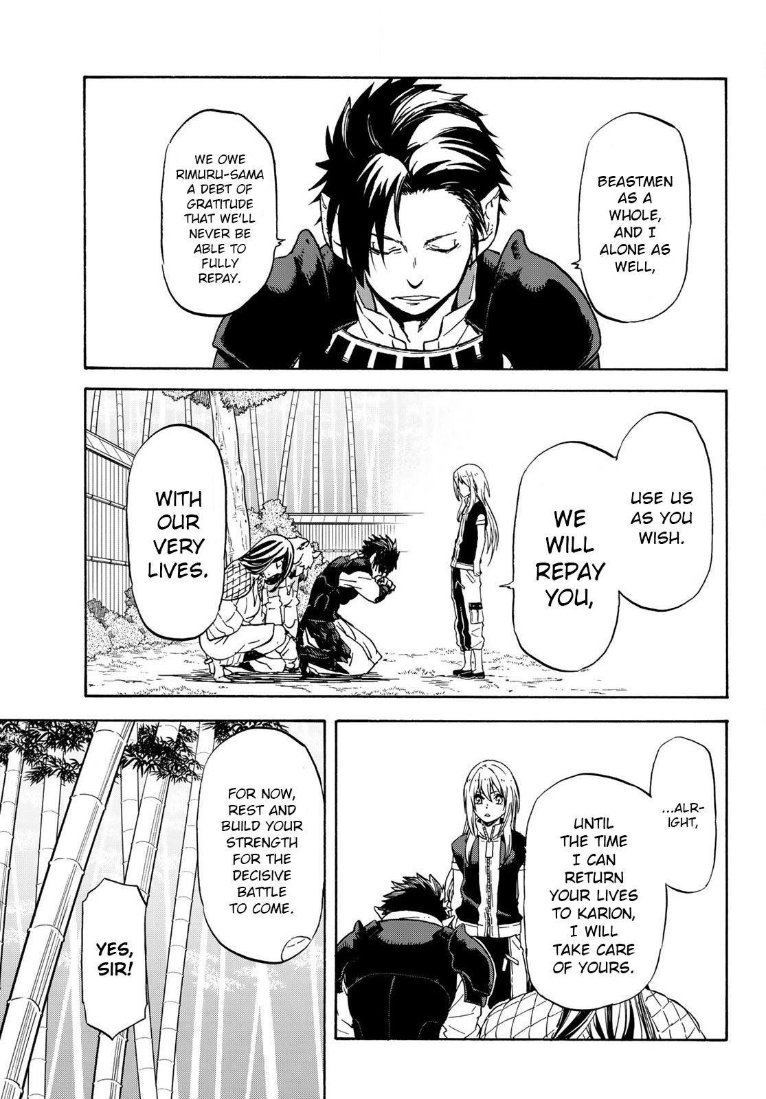 Tensei shitara Slime Datta Ken, Chapter 71 image 007