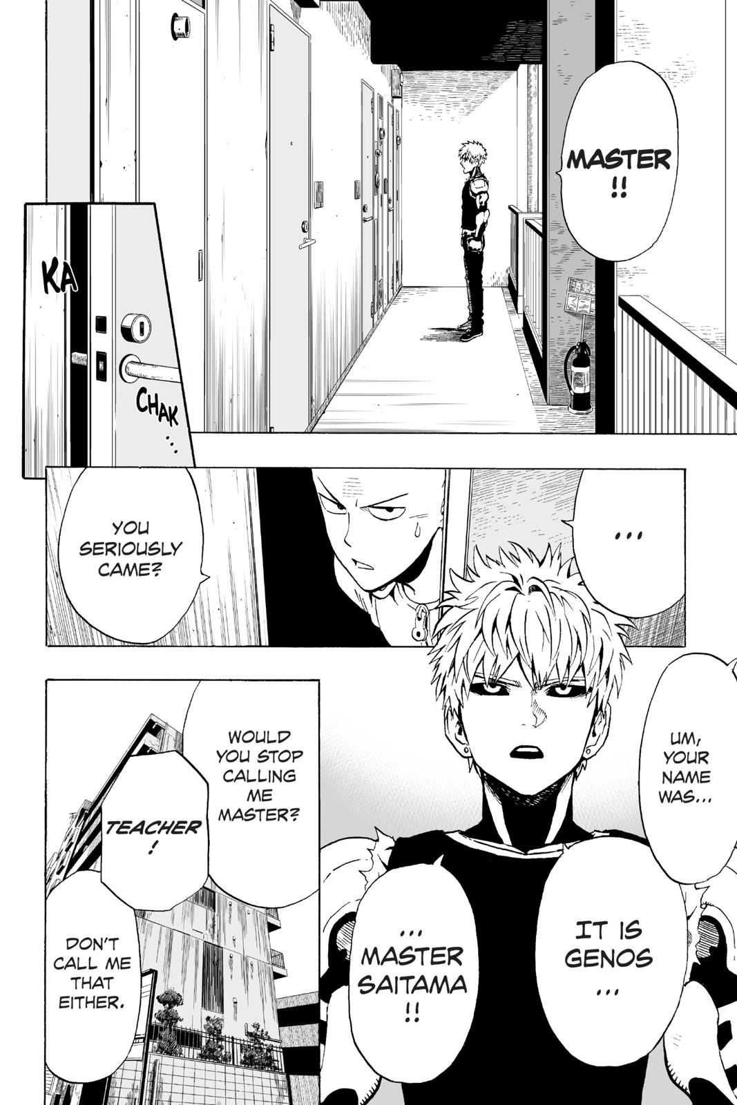 One-Punch Man, Chapter 7 image 002