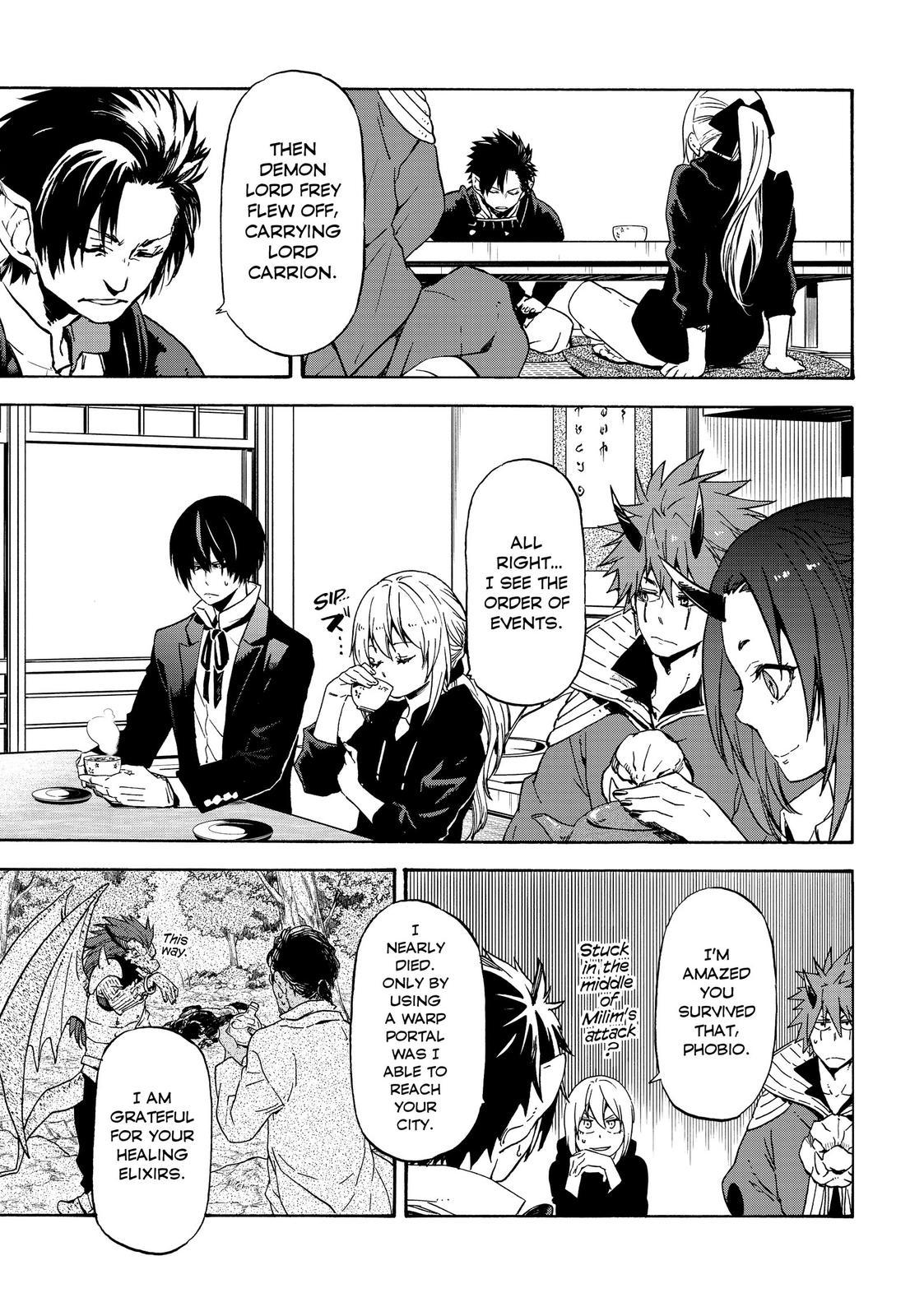 Tensei shitara Slime Datta Ken, Chapter 70 image 028