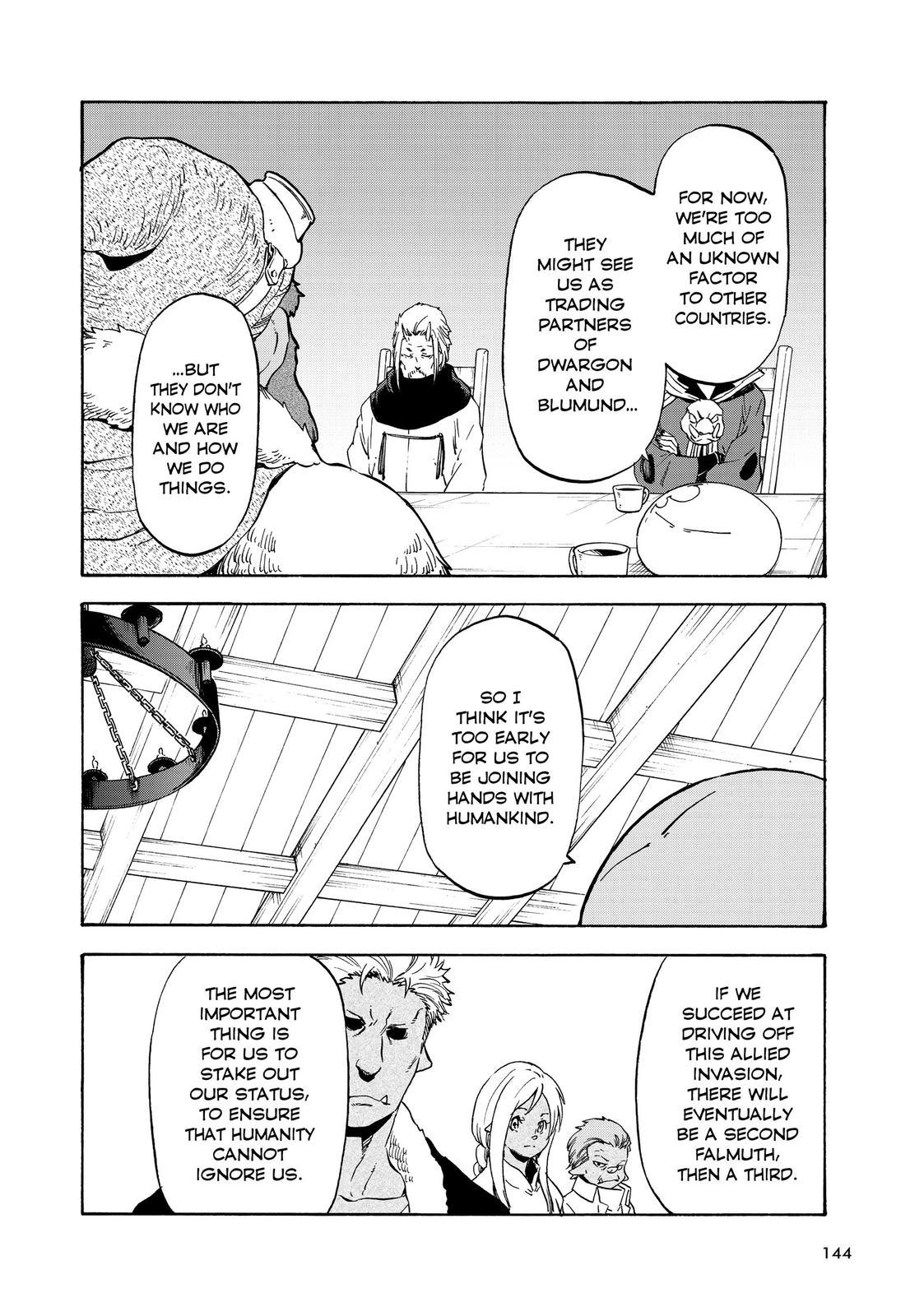 Tensei shitara Slime Datta Ken, Chapter 63 image 004