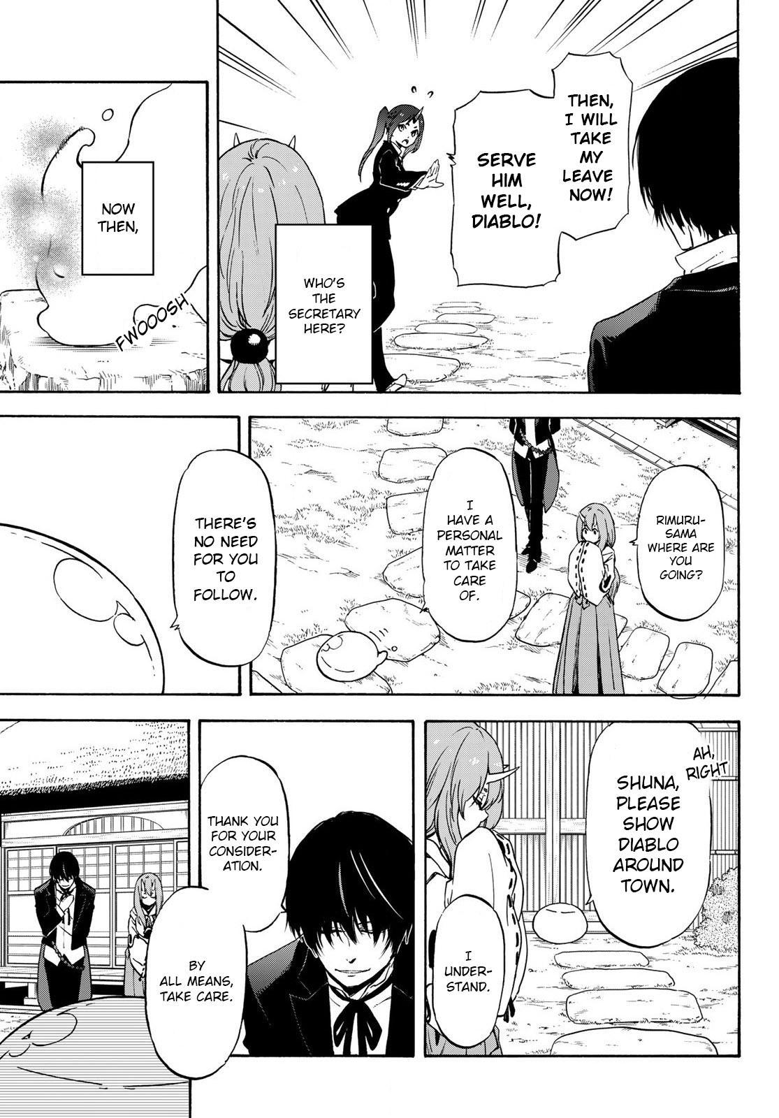 Tensei shitara Slime Datta Ken, Chapter 71 image 009