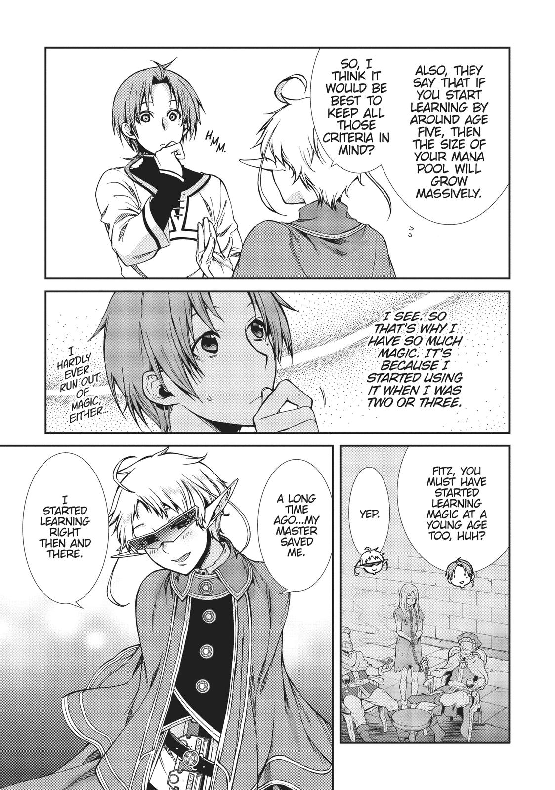 Mushoku Tensei, Chapter 58 image 019