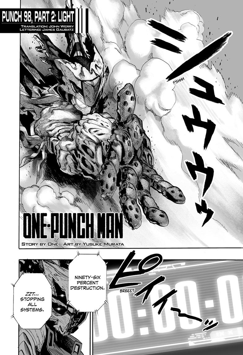 One-Punch Man, Chapter 98.5 image 001
