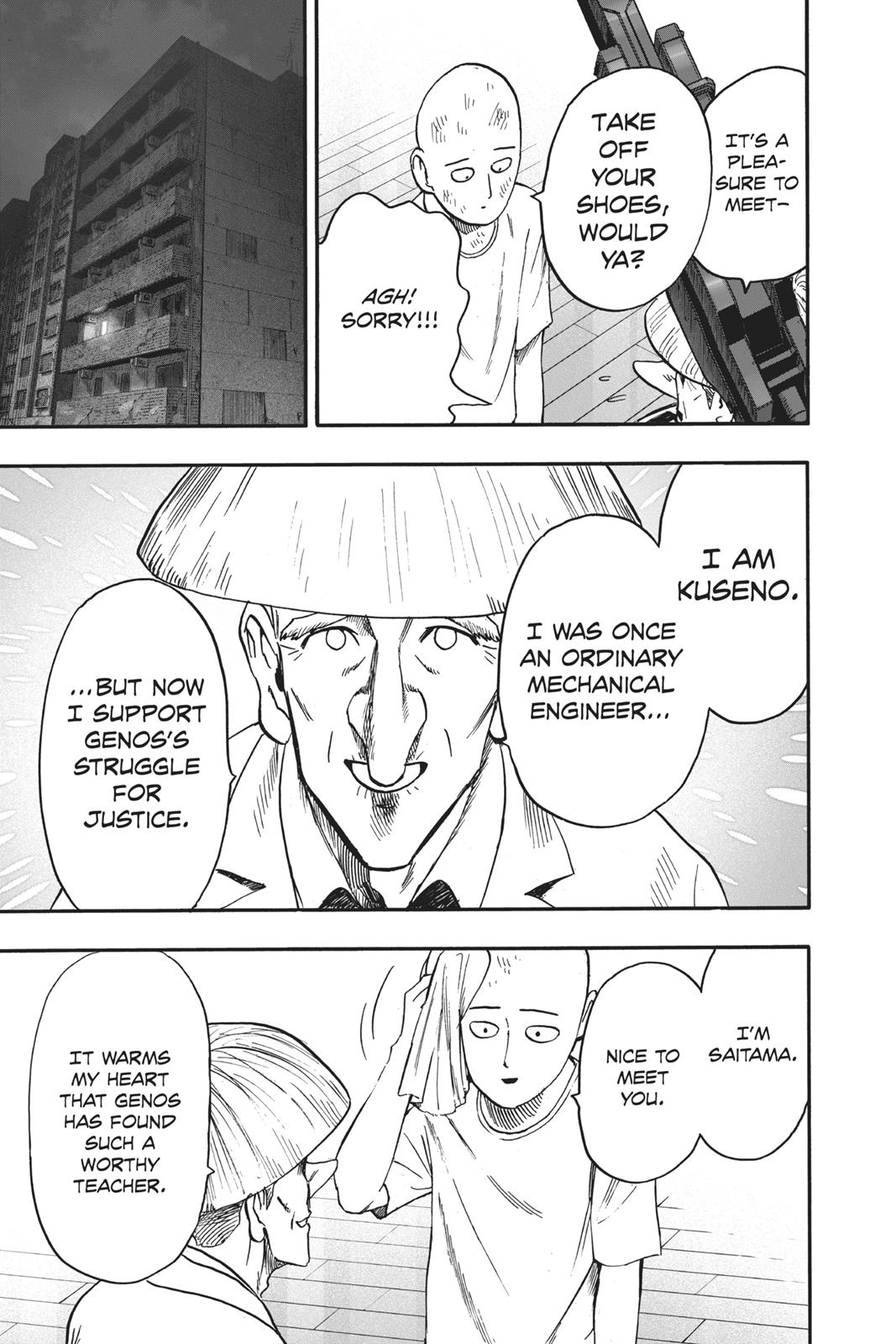 One-Punch Man, Chapter 90 image 021