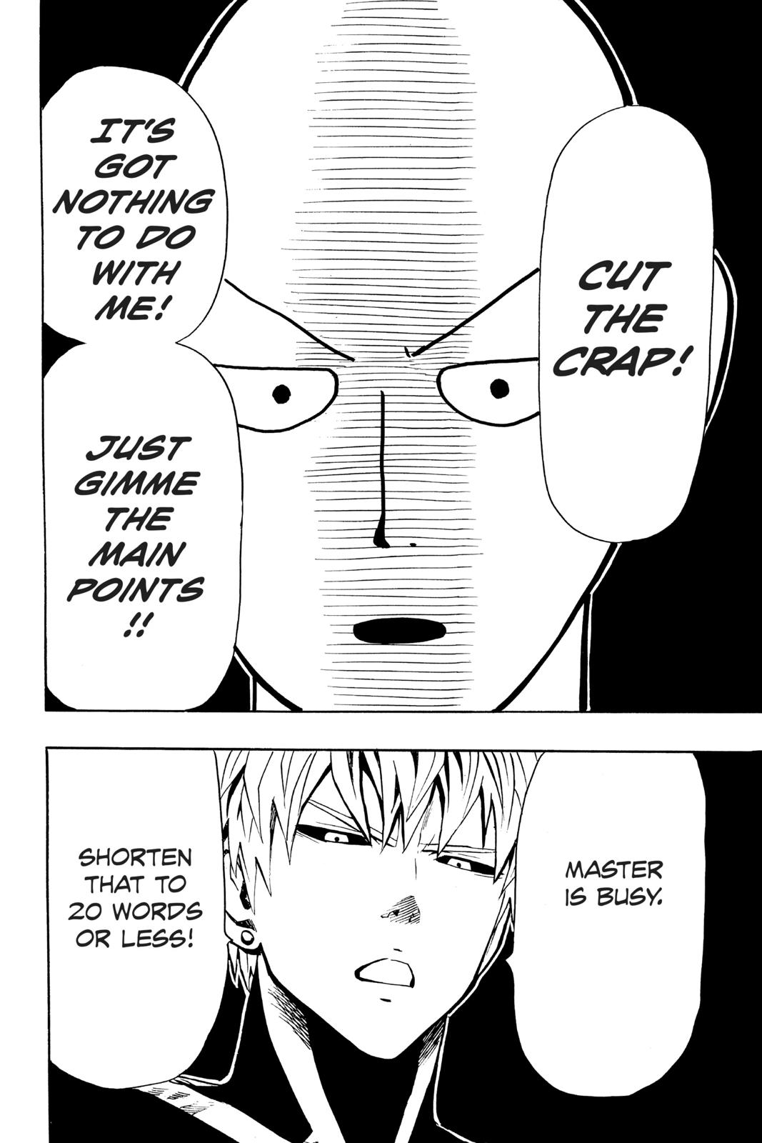 One-Punch Man, Chapter 9 image 012