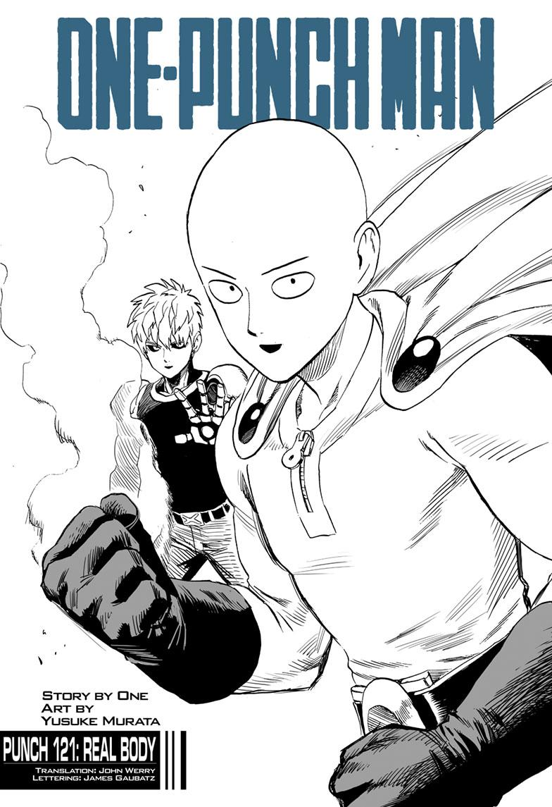 One-Punch Man, Chapter 121 image 001