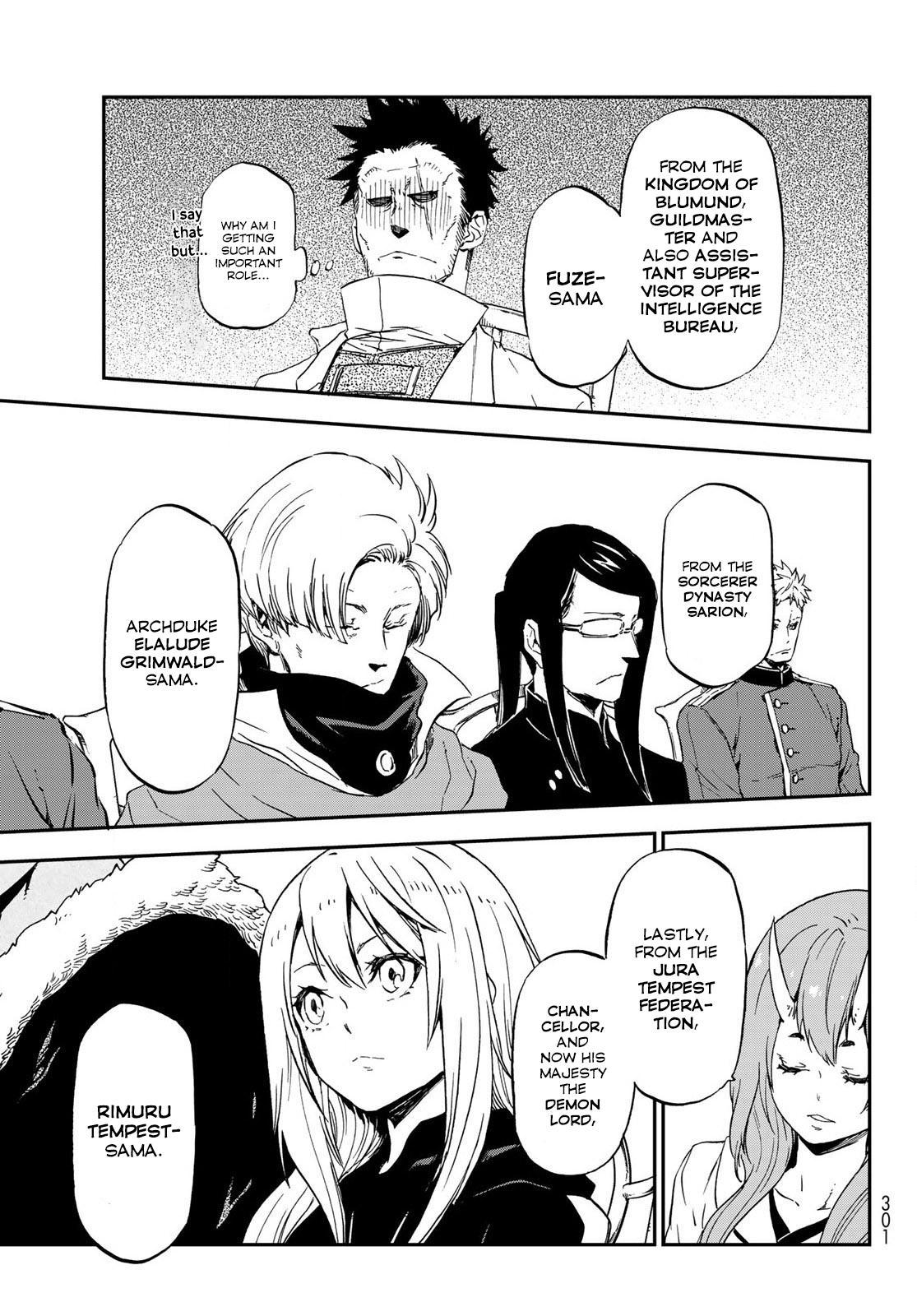 Tensei shitara Slime Datta Ken, Chapter 74 image 033
