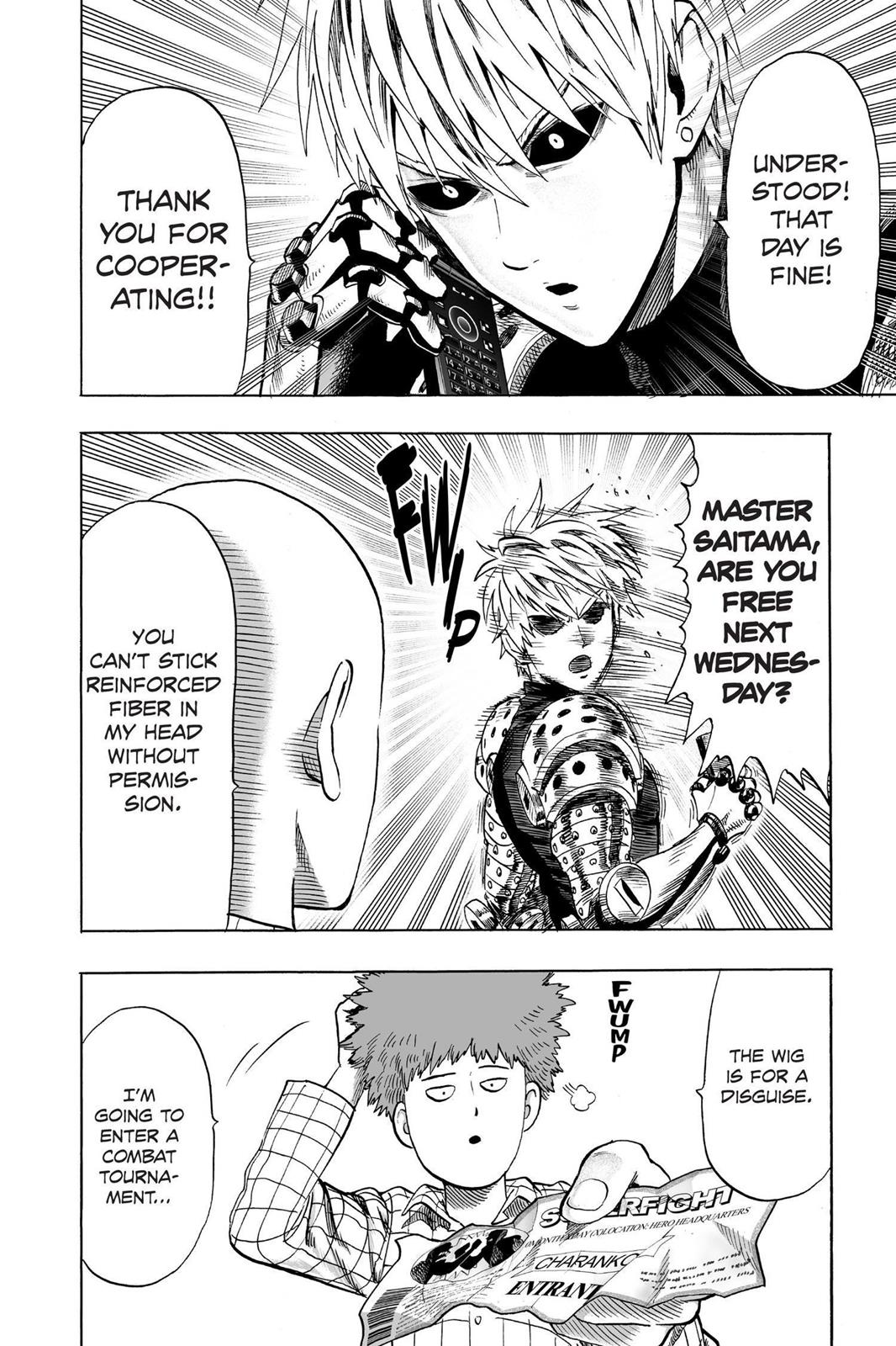 One-Punch Man, Chapter 51 image 015